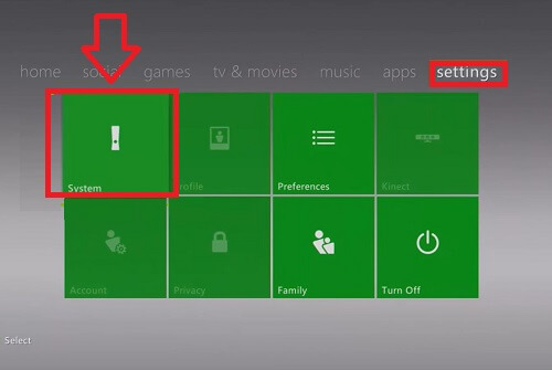 restore xbox 360 to factory settings